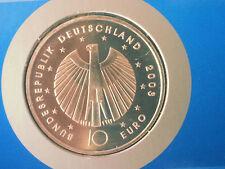 4 x 10 Euro Silber Gedenkmünzen FIFA-WM 2006 mit Sonderbriefmarken
