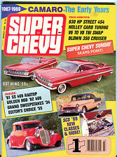 Super Chevy Magazine March 1989 Bat Wing '59s Camaro EX 020916jhe