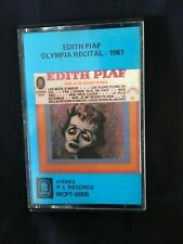 Edith Piaf Olympia Recital- 1961 Cassette EXTREMELY RARE!