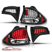 2006 2007 2008 2009 2010 2011 Honda Civic Sedan 4DR Black LED Brake Tail Lights