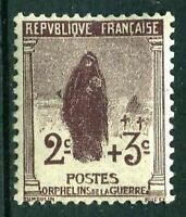 """FRANCE STAMP TIMBRE N°148 """" ORPHELINS, 2c + 3c VEUVE AU CIMETIERE """" NEUF xx LUXE"""
