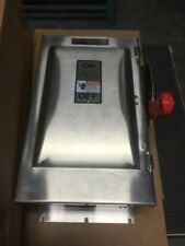 COOPER WSRD63542SMS 3P 60A 600V NF SAFETY SWITCH
