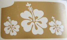 GT42 Body Art Temporary Glitter Tattoo stencil Henna Flowers Flower