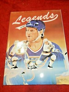 Brett Hull 1991 Legends Sports Memorabilia Magazine Vol 4 Number 5 w/Cards Mint