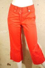 CLOSED Taille 34 Superbe pantacourt rouge femme coton corsaire