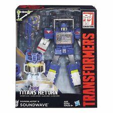Transformers Generations SOUNDWAVE Soundblaster Titans Return Leader Class Toy
