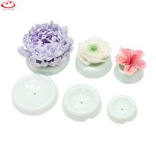 6Pcs Plastic Fondant Cake Baking Decorating Flower Mould Forming Drying Molds