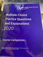 2020 - 2021 Kaplan MBE Practice Questions & Explainations Multistate Bar Exam@@