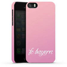 Apple iPhone SE Premium Case Cover - Girly FC Bayern - FCB