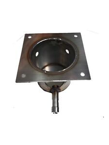 STAINLESS STEEL FIRE BURN POT Fits TRAEGER PIT BOSS 7 HOLES OEM FIT