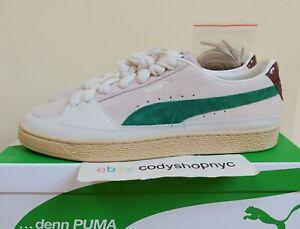 Puma Suede x Rhuigi Villasenor White Juniper Mens Shoes 9-13 Rhude NEW 382155-01