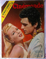 "CINEMONDE du 17/11/1955; Le Cinérama/ ""Le fils de sinbad""/ Anita Ekberg"