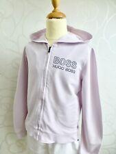 HUGO BOSS ❤️ Sweatshirtjacke Weste Hoodie Trainingsjacke Jacke rosa 12 146 152
