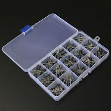 200Pcs 15Value Electrolytic Capacitor Assortment Element Pack With Box Set