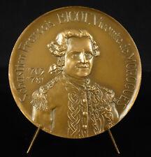 Médaille Sébastien-François Bigot de Morogues officier de marine et gentilhomme