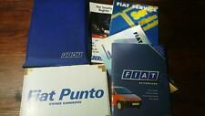 Fiat Punto Mk2 2000 Book Pack Service Book Owners Manual