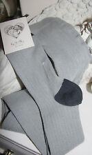 By Ti Mo Ripp - Strumpfhose Wolle/Cashmere Breeze Light Grey  one size Neu