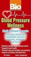 Bio Nutrition Blood Pressure Wellness 60 Tablets Fast 1 St Class Shipping