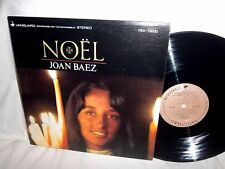 christmas JOAN BAEZ-NOEL folk rock viny NM/VG+ LP