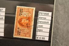 FRANCOBOLLI STAMPS EGEO USATI (F61898)