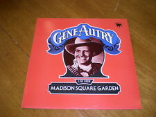 GENE AUTRY - LIVE FROM MADISON SQUARE GARDEN