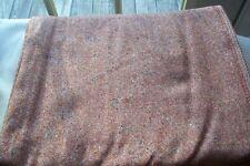 Vintage Beautiful Brown Dominate Wool Tweed Fabric 57 wide by 1 yard