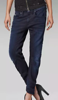 G-Star Arc 3D Kate Tapered Cropped Fit Jeans Womens Dark Aged W28 L34 *REF72-11