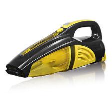 Cleanmaxx Batería Aspiradora de Mano Inalámbrico Sin Bolsa Amarillo Negro