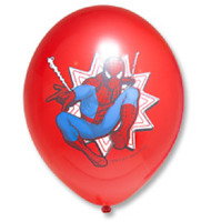 """25 x Balloons 14"""" Pattern Marvel Spider-Man Toy 3 colours"""