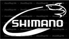 SHIMANO Fishing - Outdoor Sports - Car/SUV Vinyl Die-Cut Peel N' Stick Decals