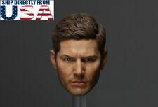 1/6 Jensen Ackles Dean Winchester Head Sculpt For Supernatural Hot toys PHICEN