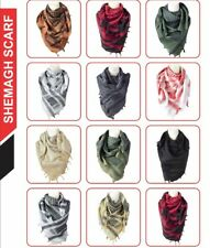 100% Cotton Military Shemagh Arab Tactical Desert Keffiyeh Scarf Wrap AUK