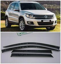 For VW Tiguan 2008-2016 Side Window Visors Sun Rain Guard Vent Deflectors
