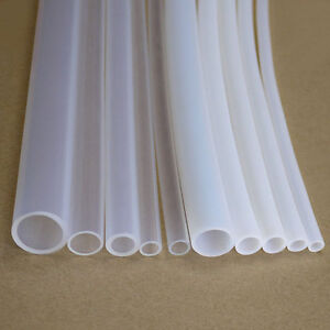 1MM~20M​M PTFE Teflon Tubing Pipe ROHS White/Clear