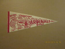 MLB St.Louis Cardinals 1967 NL Champions Roster Pennant