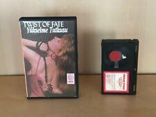 Victoria Van Harris TWIST OF FATE Turkish Release Rental BETAMAX 1988 Lost Movie