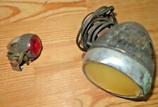 Vintage Raleigh Bicycle Sturmey-Archer Front & Rear Dynamo Lights