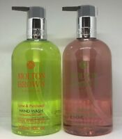 Molton Brown Lime & Patchouli, Delicious Rhubarb & Rose Hand Wash 300ml