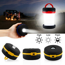 Portable Camping Linterna USB LED Linterna plegable senderismo Noche Luz Lámpara
