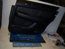 1998 Acura RL door panel passenger right rear black leather