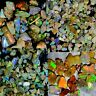 100%Natural Ethiopian Multi flash Welo Opal Rough Lot Play Of Color Gemstone