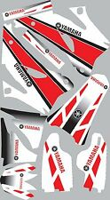 Graphics for 2006-2009 Yamaha YZ250f 450f YZ 250f Decals Shrouds fender Sticker