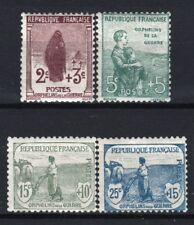 "FRANCE STAMP YVERT 148 /151 "" ORPHELINS 4 TIMBRES "" NEUFS xx TB VALEUR:450€ R621"