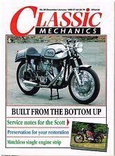 C&MCM Dec 1988 Yamaha TX500 750 Matchless G3LS engine diesel Scott service