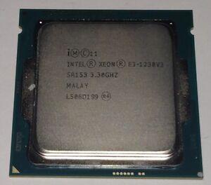 Intel Xeon E3-1230V3 Quad-Core 3.3GHz LGA1150 Processor SR153