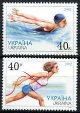 Ukraine 2002 SG#425-6 Sportsmen MNH Set #D72882