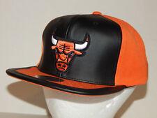 Mitchell & Ness Shattered Day One Chicago Bulls Hat / Cap Black / Orange Jordan