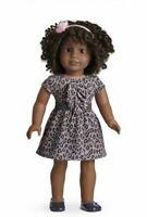 "American Girl My AG Sweet Savannah Dress Headband Shoes 4 pcs Set 18"" Doll NIB"