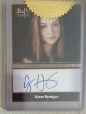 BUFFY - ULTIMATE COLLECTOR'S SET 2: BORDERED AUTOGRAPH CARD: ALYSON HANNIGAN