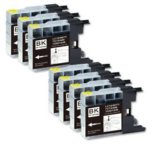 7 NEW BLACK Printer Ink use for LC71 LC75 Brother MFC-J280W MFC-J425W MFC-J430W